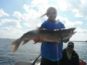 Photo from Lake Trout Fishing Trip at Lawrence Bay Lodge