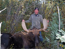 Moose Hunting with Lawrence Bay Lodge