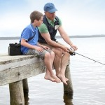 father son fishing trip