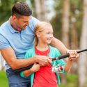 Practice Fishing On Land with Your Children