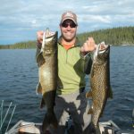 Lake Trout Fishing in Saskatchewan